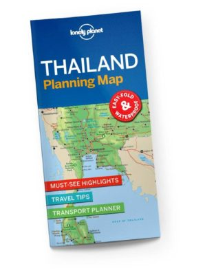 Thailand-kort-lonely-planet